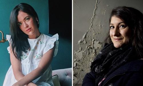 Charly Cox and Nadine Aisha Jassat