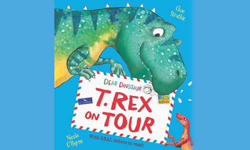 Dear Dinosaur: T. Rex on Tour with  Chae Strathie