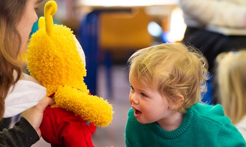 Bookbug at Pollokshaws Library
