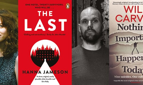 Hanna Jameson and Will Carver, Profoundly Original Thrillers