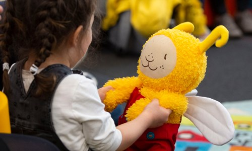 Bookbug at Library at GoMA