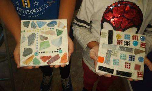 Family Friendly Mosaic Making