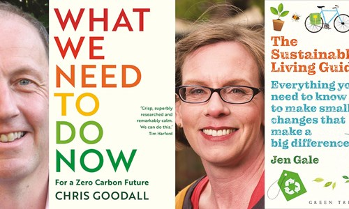 Chris Goodall and Jen Gale, What We Need to Do to Live Sustainably?