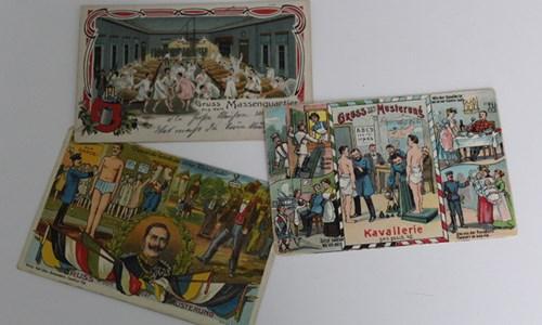 War Propaganda in German Military Postcards
