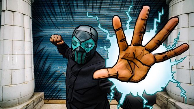 Heroes in the Making: Superhero Mask Making Workshop