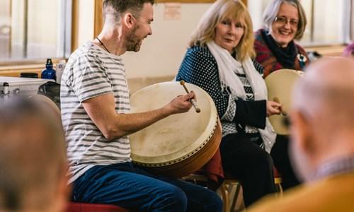 Bodhran for Ensemble with Cormac Byrne