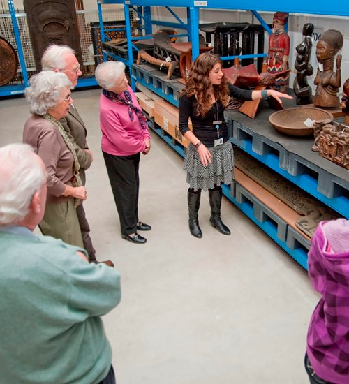 Behind the Scenes Tour  at Glasgow Museums Resource Centre image