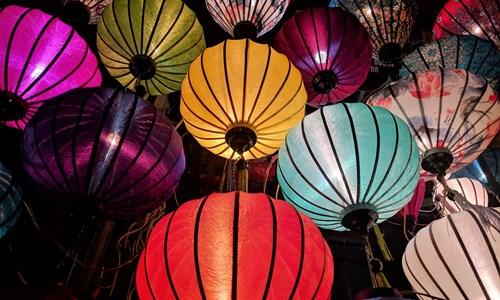 Festive Willow Lanterns