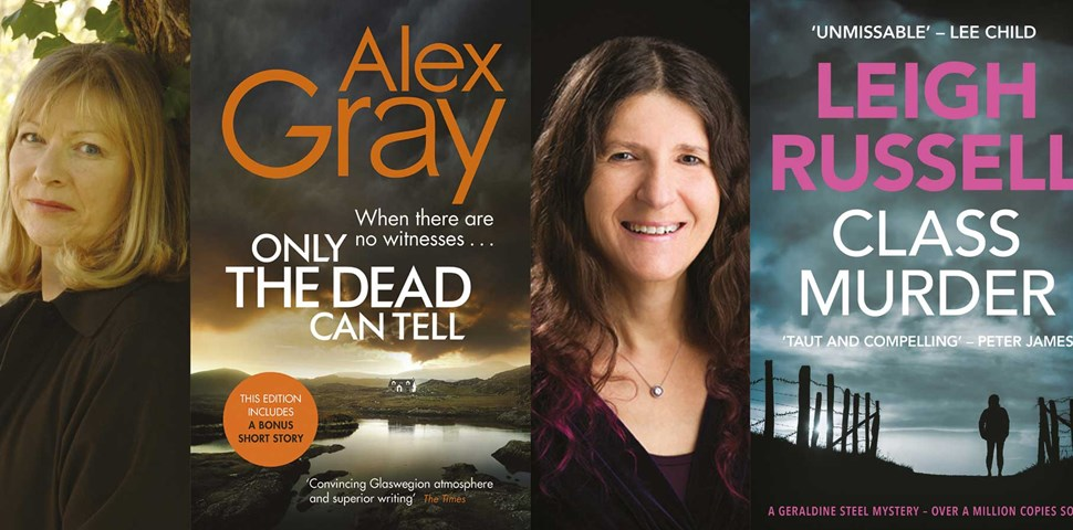 Alex Gray & Leigh Russell, Crime is a Series Business