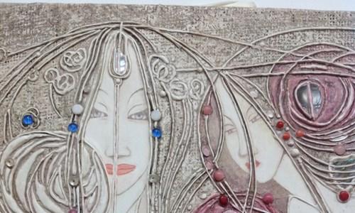 Gesso Panels and Margaret Macdonald Mackintosh