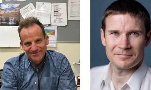 Peter Dorward and Gavin Francis