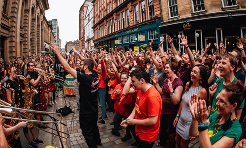 Encontro Festival Street Takeover