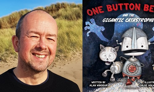 Wee Write Family Day: Alan Windram - One Button Benny and the Gigantic Catastrophe