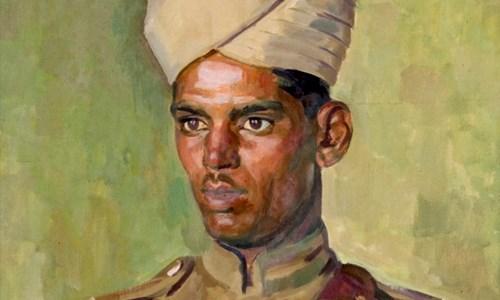 Henry Lamb's portrait of 'Driver Abdul Ghani'