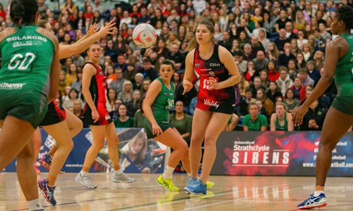 Strathclyde Sirens vs Celtic Dragons