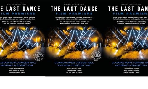 Runrig - The Last Dance Film Premiere Screening