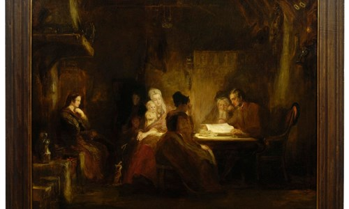 David Wilkie's 'The Cottar's Saturday Night'