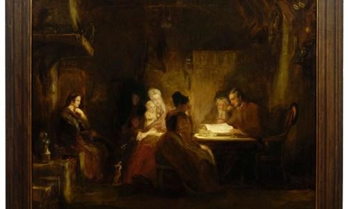 Kelvingrove Talk: David Wilkie's 'The Cottar's Saturday Night'