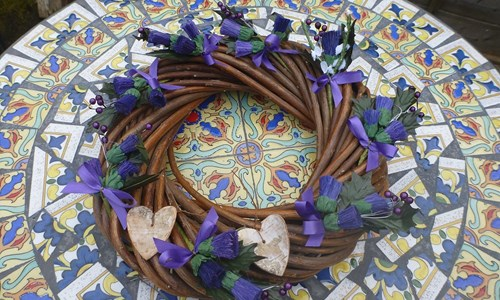 Christmas Willow Wreath Making Workshop