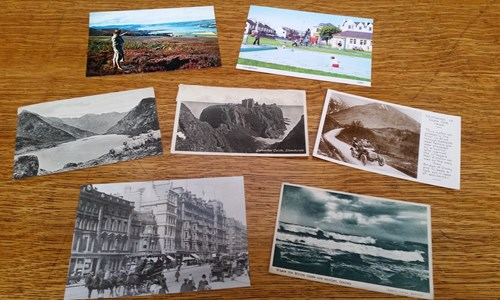 #MitchellCurious: Postcards from the Past