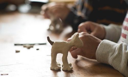 Gromit Model Making Workshop