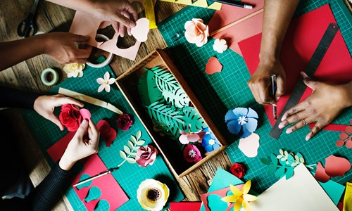 Whiteinch Paper-craft Class