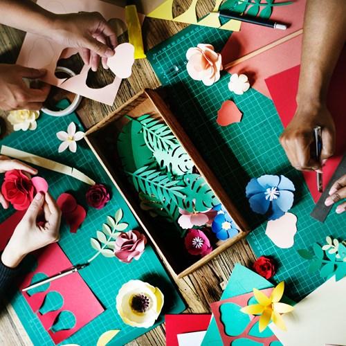 Whiteinch Paper-craft Class