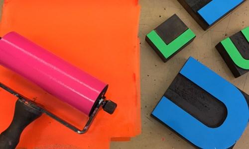 Printshop! workshop - Relief Printing
