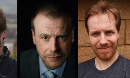 James Oswald, Neil Broadfoot & M.R Mackenzie