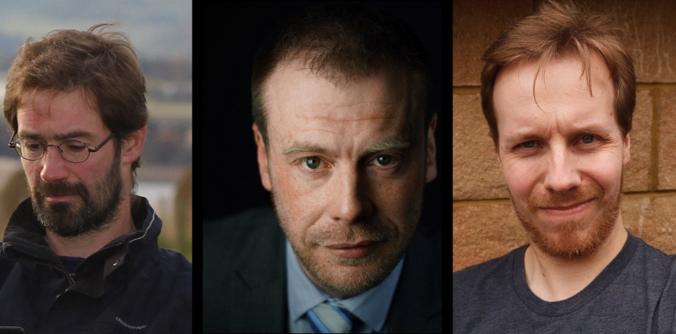 James Oswald, Neil Broadfoot & M.R Mackenzie
