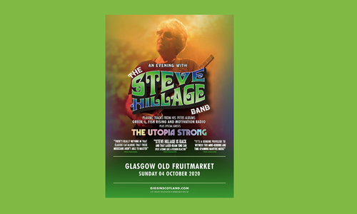 DF Concerts presents: The Steve Hillage Band