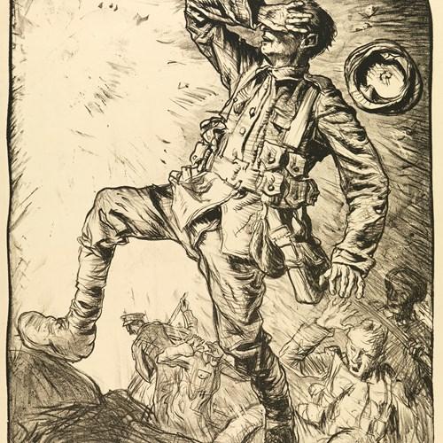 Frank Brangwyn's World War I Lithographs