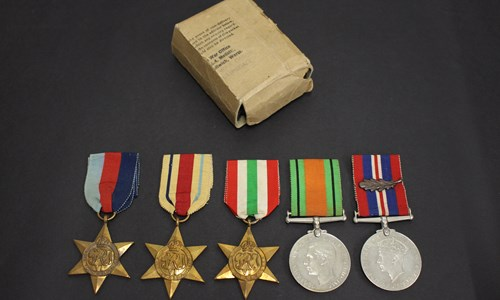 Cancelled: Screening: Grandpa's Medals: A WWII Story