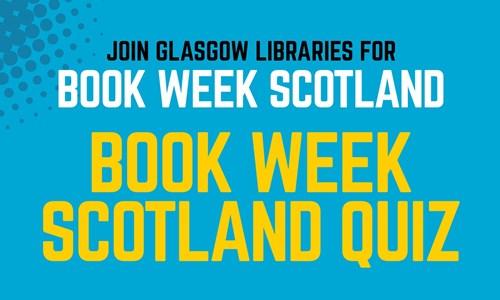 Book Week Scotland Quiz at Langside Library