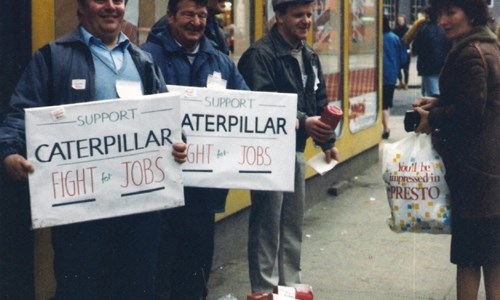 The Caterpillar Workers Legacy Group - remembering the occupation