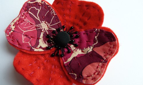 Kantha Poppy Making Workshop