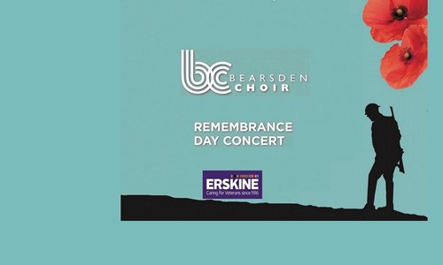 Bearsden Choir Remembrance Day Concert in Aid of Erskine