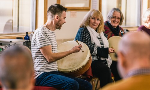 Bodhran for Ensemble with Cormac Byrne