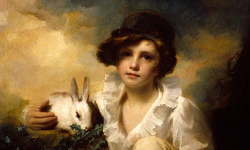 Henry Raeburn's 'Boy and Rabbit'