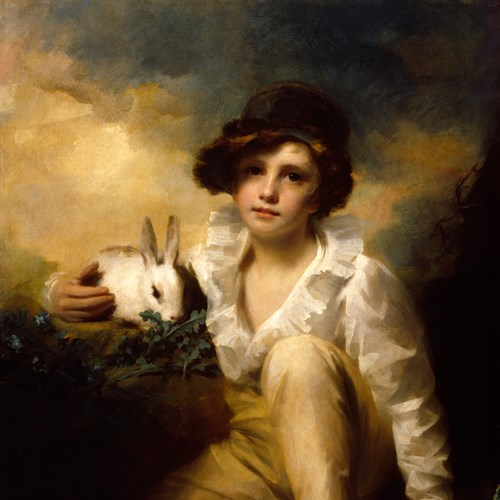 Henry Raeburn's 'Boy and Rabbit'
