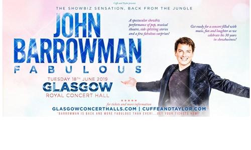 John Barrowman - The Fabulous Tour