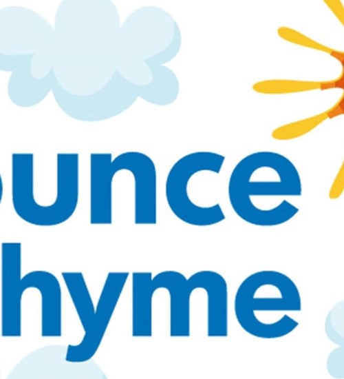 Bounce and Rhyme  at Gorbals Library image