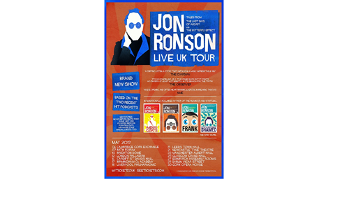 Jon Ronson - Tales from Last Days of August & The Butterfly Effect