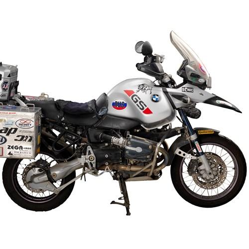 Motorbike Wall – Ewan McGregor's BMWs