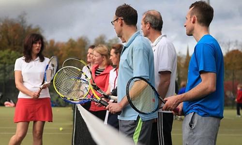 Tennis at Glasgow Club Gorbals