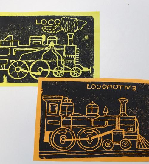 Locomotive Prints at Riverside Museum image