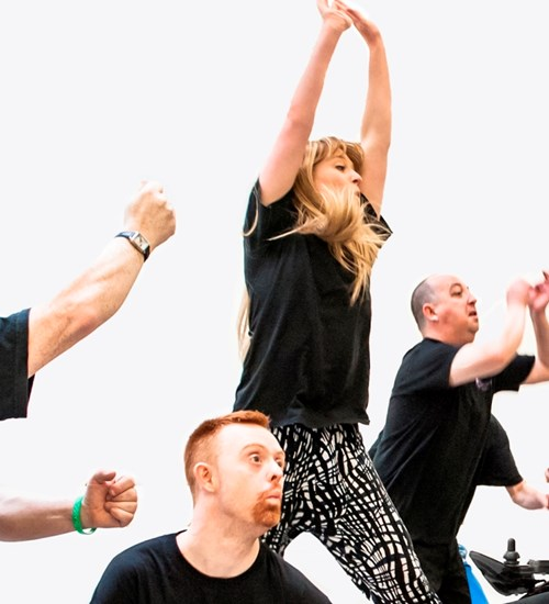 Indepen-dance: Creative Movers Adult Classes  at Tramway image