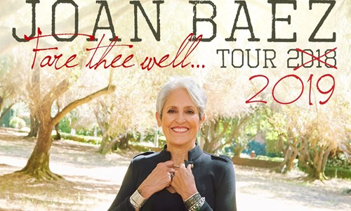Joan Baez - The 'Fare Thee Well Tour' 2019