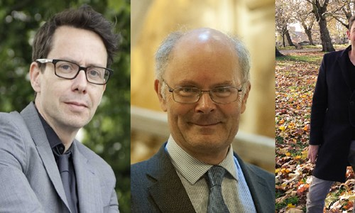 Bobby Duffy & David Robson with Prof. John Curtice