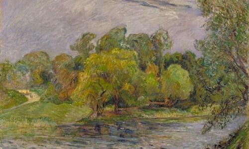 Paul Gauguin's painting, 'Ostre Anlaeg Park, Copenhagen'